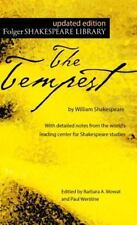 The Tempest (Folger Shakespeare Library) by William Shakespeare Paperback