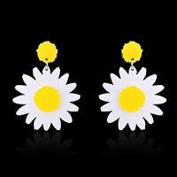 PT_ LC_ GRANDE MARGHERITA a forma di orecchini - Goccia Gioielli da Donna PR