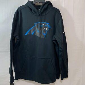 Nike Men NWT Carolina Panthers Performance Pullover Hoodie  in Black Size XL