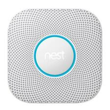 Nest Protect Smoke and Carbon Monoxide Alarm White - Battery Powered 2nd Gen New