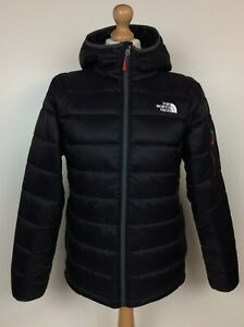 THE NORTH FACE MENS BLACK ACONCAGUA SYNTHETIC PADDED HOODED JACKET RRP £165 AD