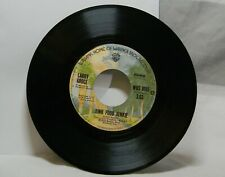LARRY GROCE JUNK FOOD JUNKIE / MUDDY BOGGY BANJO MAN 45 RPM RECORD M1