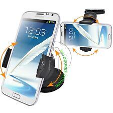 360 ° Mini Coche Soporte de montaje universal para smartphones Samsung Galaxy