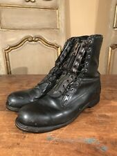 Vietnam Military Paratrooper Zip Up Climbing Hiking Army Boots Size 10.5 E