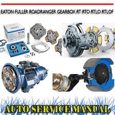 EATON FULLER ROADRANGER GEARBOX RT RTO RTLO RTLOF WORKSHOP SERVICE MANUAL ~ DVD