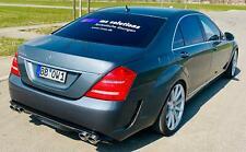 Heckstoßstange für Mercedes Benz W221 AMG Black Series Stoßstange S65 S63 PDC