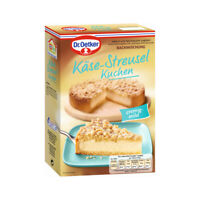 Oetker Käse-Streusel Kuchen Premium Familienkuchen 730g