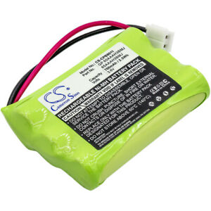 Replacement Battery for GP 0710 3.6v 700mAh / 2.52Wh Cordless Phone Battery