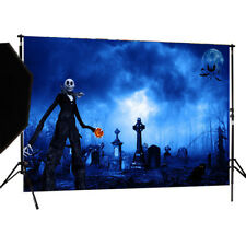 Zombies Halloween vinyl Backdrop Photography Props Photo Background  1.5*1M