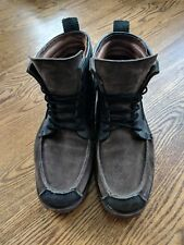 TIMBERLAND BOOT COMPANY - COUNTERPANE CHUKKA (BLACK/BROWN) LEATHER BOOT (89546)