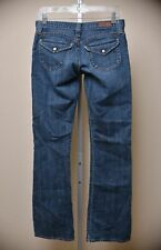 AG Adriano Goldschmied The Logic Flare Jeans Medium Wash Denim Women's size 27 R