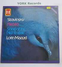 2548 145 - STRAVINSKY - Firebird / Song Of The Nightingale MAAZEL - Ex LP Record