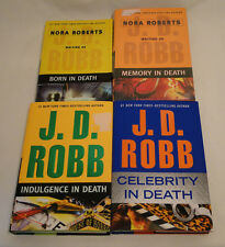 Lot of 4 Nora Roberts / J.D. Robb Novels - GOOD CONDITION!