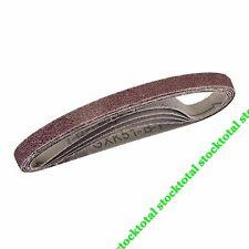 Bandas de lija 10 x 330 mm, 5 pzas Compatible con todas las lijadoras de  726614