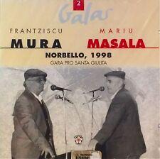 Frantziscu Mura, Mariu Masala - Gara Pro S.Giulita, Norbello 1998 (2 CD - Album)