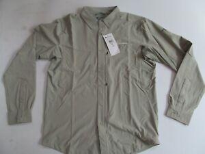 Columbia  Mazama Trail Titanium AO2977 348  man green LS shirt  sz M Brand New