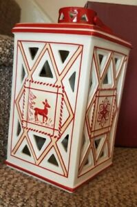 villeroy and boch christmas large candle lantern