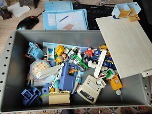 Playmobil Mini Box Restposten Tierarztpraxis Post Eismann Eisverkäufer Sammlung