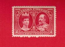 1908  #  98 * VFH  TIMBRE  CANADA STAMP  QUEBEC TERCENTENARY KING EDWARD