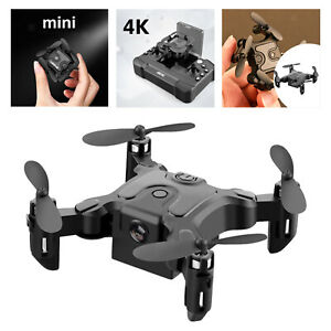 Faltbare RC FPV Drohne 2.4G Live Video App Steuerung Fernbedienung Quadcopter