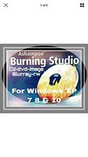 Burning Software   for CD DVD DVD-RW Blu-Ray FOR WINDOWS XP 7 8 & 10