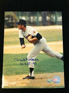 "Phil Niekro Signed "" HOF 97"" Autographed Photo - COA - Atlanta Braves"