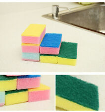 US 10Pcs  Household Cleaning Tools Dishes Sponge  Eliminate Besmirch Sponge