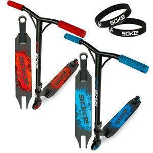 Stunt Scooter EVO Kickscooter mit ABEC 9 Kugellager SOKE zwei Farben