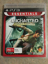 Uncharted Drakes fortune playstation 3 ps3 game
