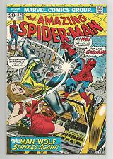 AMAZING SPIDER-MAN (v1) #125: Bronze Age Grade 8.0 Featuring Man-Wolf!!