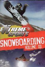 Extreme Sports - Snowboarding Volume III DVD - New & Sealed