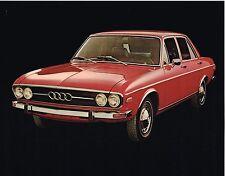 1972 Audi 100LS Dealer Sales Brochure / Flyer / Prospekt Sheet: 100 LS Automatic