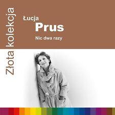 CD LUCJA / ŁUCJA PRUS Nic dwa razy  Złota kolekcja