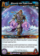WOW WARCRAFT TCG WAR OF THE ANCIENTS : RHONIN THE TIME-LOST X 4