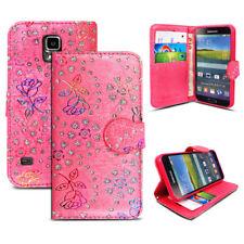 Luxury Book Flip Wallet Case Cover for Samsung Galaxy S3, S4, S3 MINI, S4 MINI