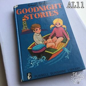 Vintage Book Title: Goodnight Stories by Enid Blyton 1967
