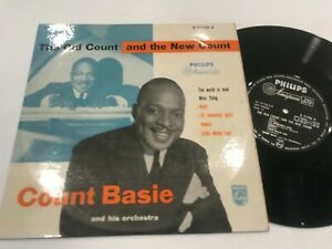 """Count Basie 10"""" Record Old New Philips B07705 Jazz Import"""