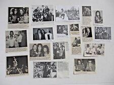 ALICE COOPER original magazine clippings LOT of 18 rare 1970's to 1990's