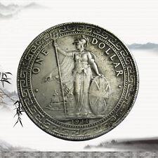 Durable 1911 1 Yuan Tibetan Warrior Ancient Silver Dollar Coin Collectible Gift