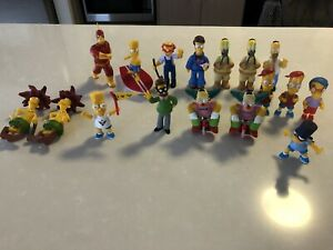The Simpsons Figures Lot