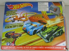 1:43 Scale Hot Wheels Battery-Operated 12.4ft Slot Race Track Set