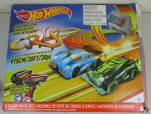 Hot Wheels Challenge Level Slot Car Track Set Big Ages 5+ Complete 83130