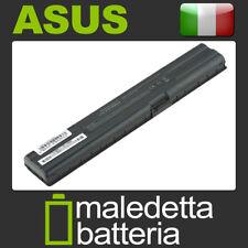 Batteria 14.4-14.8V 5200mAh EQUIVALENTE Asus A42A3 A42-A3 A42A6 A42-A6