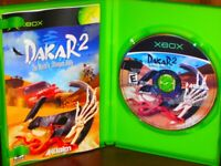 Dakar 2: The World's Ultimate Rally - XBOX Off-Road Racing Game Complete!