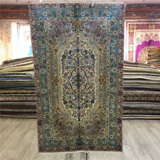 Yilong 2.5'x4' Pictorial Hand Knotted Carpet Nice Silk Handmade Area Rugs 038C