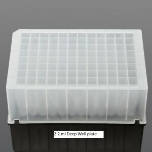 2.2 ml 96-Well Deep Well Plate For KingFisher Flex (Sterile, 50/case)