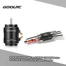 GoolRC 90A Brushless ESC & 4300KV Motor/ Water Cooling Jacket for RC Boat W1A0