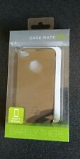 Case-Mate Barely There Case for the Apple iPhone 4 4s (Metallic Silver / Chrome)