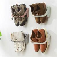 Neue Kreative Kunststoff Schuhregal Stehen Schrank Display Wand Schuhe Rack  sp