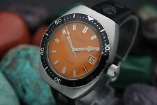 Vintage ORGANA Automatic 25j 6Adj Stainless Steel Screw Down 20 ATM Divers Watch